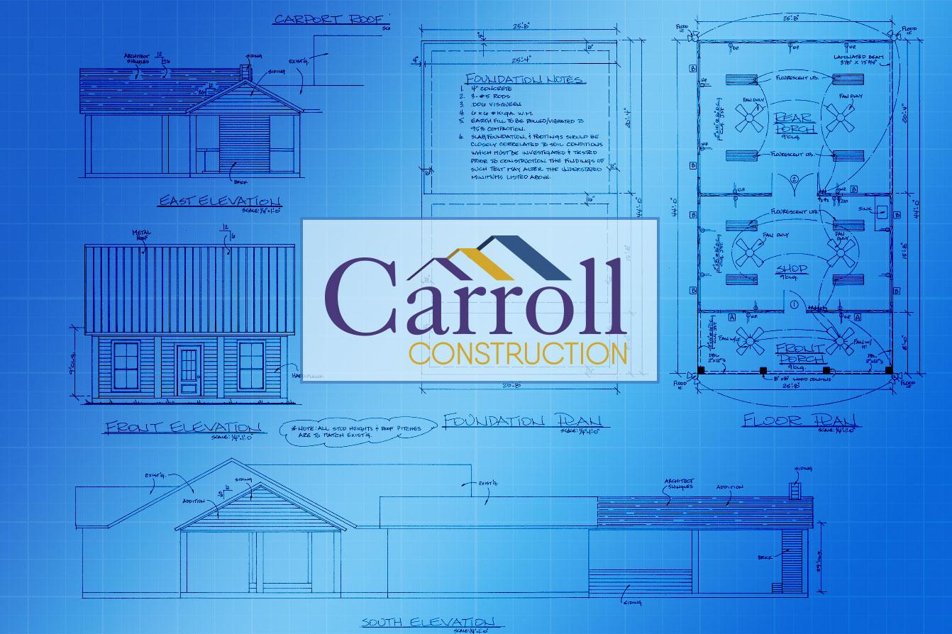 Granier odk blueprint carroll construction a louisiana home builder outdoor kitchen blueprint carroll construction malvernweather Gallery