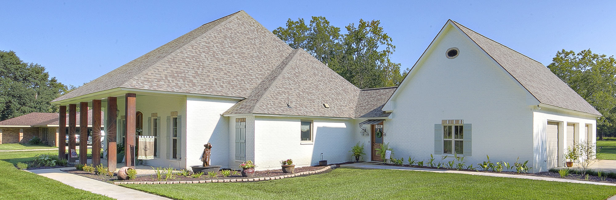 Custom Construction of a new home in Zachary, LA