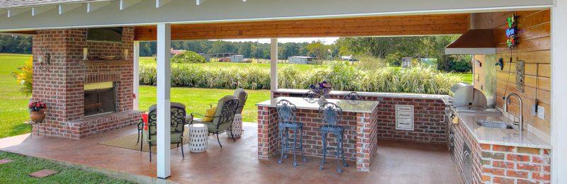 outdoor - Carroll Construction   A Louisiana Home Builder