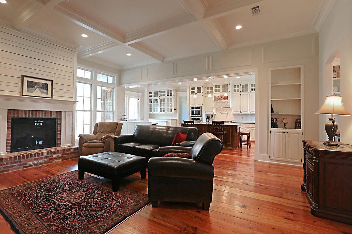 living room remodel - Carroll Construction   A Louisiana Home Builder