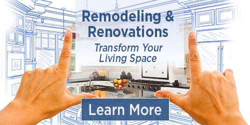Construction of Remodels, Renovations and Additions