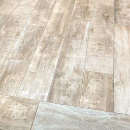 Beautiful and hearty custom wood grain flooring