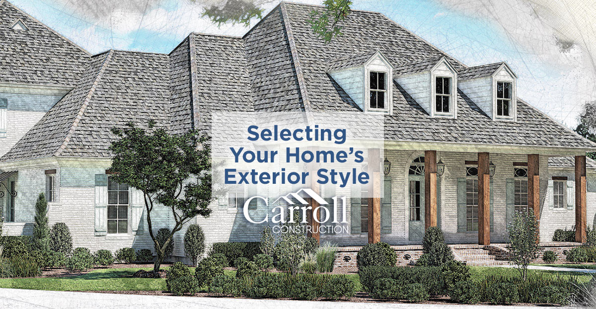 Step #3: Select Your Home's Exterior Style - Carroll ... Raised Acadian Home Plans Cottage on raised acadian home plans, acadian style cabin plans, raised creole cottage plans, cottage house plans, acadian exterior home colors, simple acadian house plans, acadian style house plans, acadian homes on slabs,