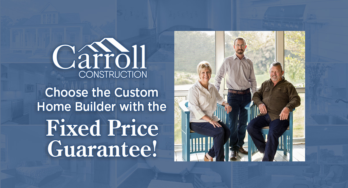 Welcome to Carroll Construction   A Residential Home Builder