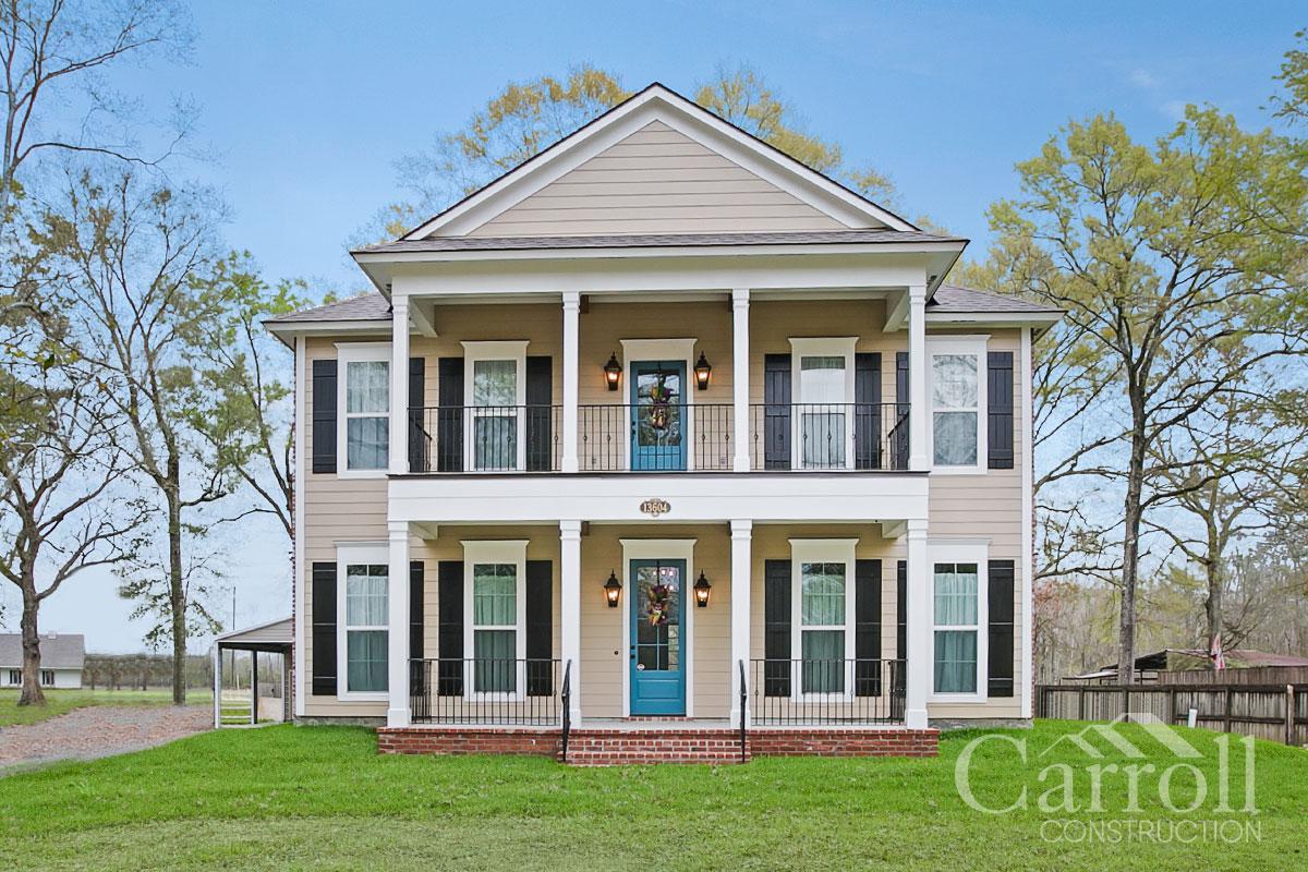 Carroll Construction | Custom Home Builders and Louisiana ... on louisiana inspired homes, louisiana wetlands homes, louisiana small homes,